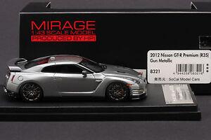 Nissan R35 GT-R  Premium -- HPI 1/43 #8321