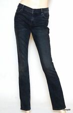 Nwt $148 Juicy Couture Penelope Low Rise Straight Leg Jeans Pants Tale Wash 27
