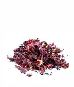400g Organic Dried HIBISCUS Flowers Loose Leaf Herbal Tea Brew Premium Quality