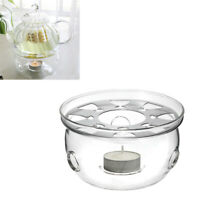 Stövchen Teewärmer Kaffeewärmer Hitzebeständiges Glasteeset Heizungsbasis PD