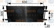 8FC 351 037-701 Hella Condensador De Aire Acondicionado