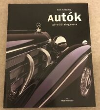 Autok Classic Supercar Coffee Table Book By Ron Kimball