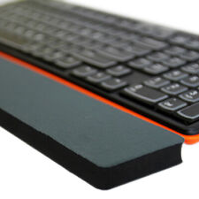 Keyboard rubber wrist support pad pc computer hand rest comfort hands cushion