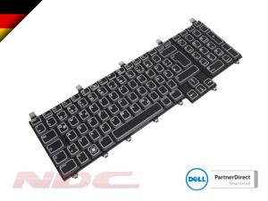 NEU Original Dell Alienware m18x r1/r2 DEUTSCHE Tastatur Mit AlienFX LED - 0205cp