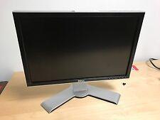"""DELL UltraSharp 2007WFP 20"""" WideScreen LCD Monitor VGA DVI S-Video Swivel Tilt"""