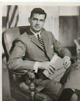 1956 Mark O Hatfield governor and Senator of Oregon Signed Photo Free Ship