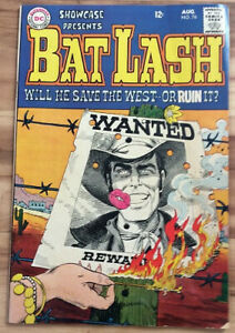 Showcase #76...August 1968...1st Bat Lash...Nick Cardy...FN-VF
