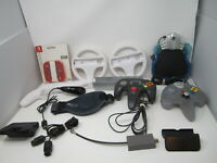 Lot of Nintendo Accessories Controllers