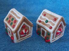 New Pal Gingerbread House Porcelain Salt & Pepper Shaker