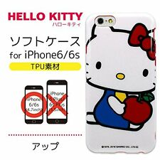 Gourmandise SANRIO Hello Kitty Soft Jacket for iPhone6s / 6 Close Up SAN-524B