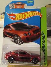 Hot Wheels Bentley Continental Supersports HW Workshop Red