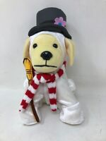 Raising CANE'S 2018 Plush Puppy Dog Limited Edition FROSTY Snowman Stuffed Toy