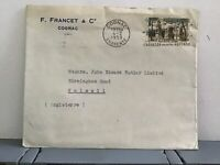 France 1959 F. Francet and Co  stamp cover R31910