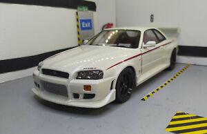 1/18 NISSAN SKYLINE GT-R (R34) 1999 Nismo Greenlight