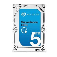 """Seagate Surveillance 5000GB HDD ST5000VX0001 128MB 3.5"""" (8.9cm) SATA 6Gb/s NEU"""