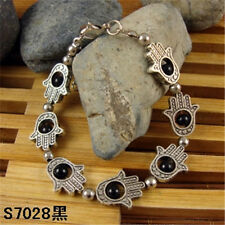 HOT Free shipping New Tibet silver multicolor jade turquoise bead bracelet S60