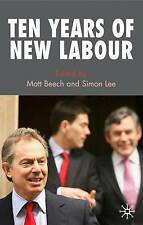 Ten Years of New Labour by