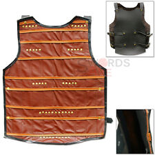 Ghost of Tsushima Samurai Leather Chest Armor Thick Cordura Brown Cuirass Harnes