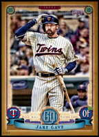Jake Cave 2019 Topps Gypsy Queen 5x7 Gold #156 RC /10 Twins