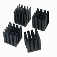 5pcs Lot 19mm 19x19x24mm with 3M Tape Heatsink For Memory Chipset VGA IC Cooling
