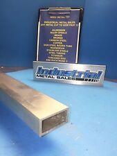 1 X 2 X 72 Long X 18 Wall 6063 T52 Aluminum Rectangle Tube 1 X 2 X 125