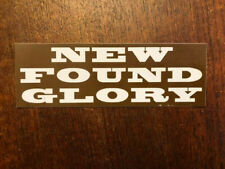 New Found Glory band Not Without a Fight sticker promo