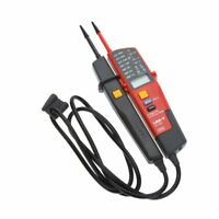 UNI-T UT18C Probador de continuidady voltaje de rango automatico con LCD/LE J5B3