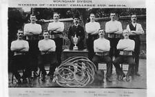 Police Tug of War Wokingham Division Keyser Cup Winners 1912/14 unused RP PC