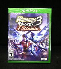 Warriors Orochi 3: Ultimate  (Microsoft Xbox One, 2014) BRAND NEW