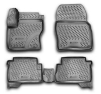 Tappetini in gomma 3D per FORD Kuga 2a gen. 13-19-> 4 pez.