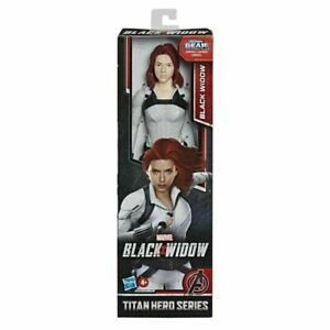 "Marvel Black Widow Titan Hero Series Blast Gear 12"" Action Figure NEW"