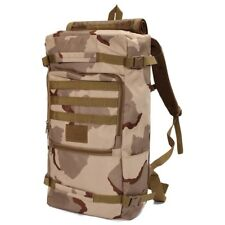 50L Outdoor Military Tactical Backpack Camping Hiking Daypack Shoulder Bag Shool