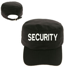 SECURITY GUARD MILITARY CADET ARMY CAP HAT HUNTER CASTRO