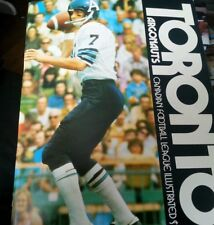 CFL Football Game PROGRAM Joe Theismann Cover and Story 1972 Notre Dame Grad