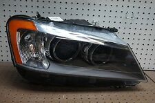 11 12 13 BMW X3 RIGHT PASSENGER XENON HEADLIGHT OEM HID 2011-2013