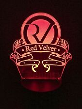 RED VELVET KPOP 3D COLOR CHANGING LED NIGHT LIGHT