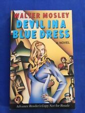 DVIL IN A BLUE DRESS - ADVANCE READING COPY SIGNED BY WALTER MOSLEY - FIRST BOOK