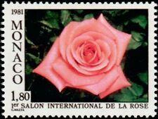 "MONACO N° 1297 ""SALON DE LA ROSE, ROSE CATHERINE DENEUVE""NEUF xxTTB"