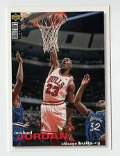 Michael Jordan 1995 Collectors Choice Chicago Bulls Official NBA Basketball card