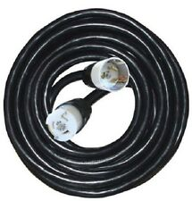 Cep 6400M 100' 6/4 or 6/3-8/1 Gauge Soow Black Temporary Power Cord