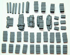 "1/72 Scale German Ammo Crates (42 Pieces) ""AG1"" - Value Gear Details Stowage"