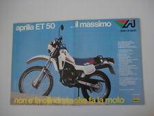 advertising Pubblicità 1983 MOTO APRILIA ET 50