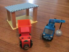 BRIO @@ TRAIN @@ RAIL @@ CROISEMENT @@ GARE @@ BOB THE BUILDER BOB LE BRICOLEUR