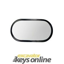 "New Kobelco Excavator Mirror (6.2"" x 12"" ) Part Number 2456R351"