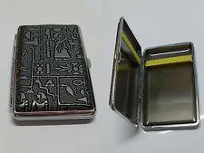 boite à cigarette égyptienne argenté
