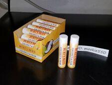 12 Lot BURT'S BEES * COCONUT & PEAR * Moisturizing Lip Balm w/Display FRESH!