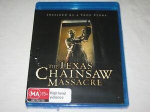 The Texas Chainsaw Massacre - Brand New & Sealed - Region B - Blu Ray