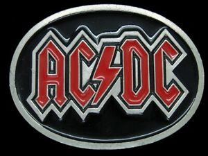 TJ13114 REALLY COOL 2004 **AC/DC** ROCK BAND MUSIC COMMEMORATIVE BELT BUCKLE