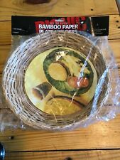 New listing Bamboo Paper Plate Holders