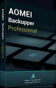 AOMEI Backupper Pro (1 PC) - Latest Edition - Authorised Seller